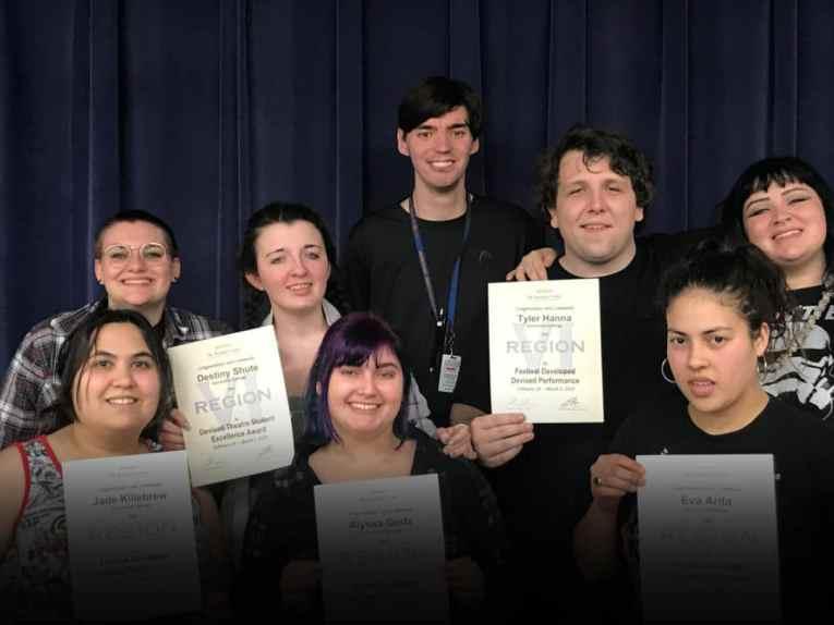 Galveston College Theatre Department recognized at Kennedy Center American College Theatre Festival