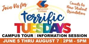 Terrific Tuesdays at Galveston College