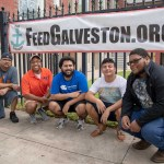 Male Success Initiative (MSI) volunteered at the Feed Galveston Packing event