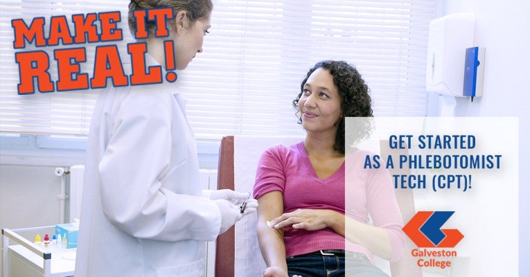 Get started as an entry level phlebotomist, and obtain your certification from the National Healthcare Association (NHA).