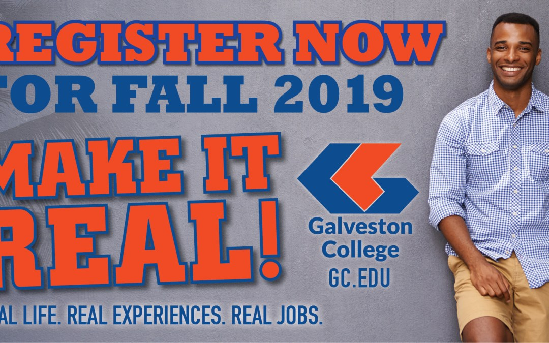 Galveston College sets fall 2019 general registration
