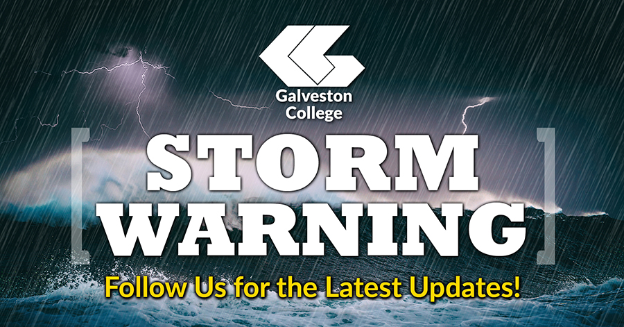 Galveston College closed Tuesday evening and all day Wednesday