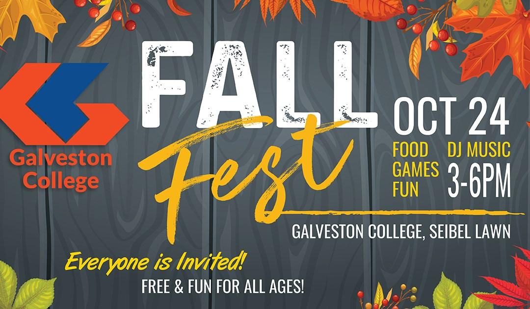 Galveston College sets 2019 Fall Festival and FAFSA Fest