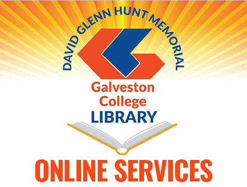 Galveston College library services available online