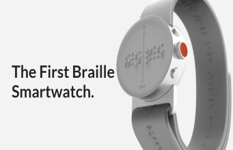 Braille Smartwatch by Dot