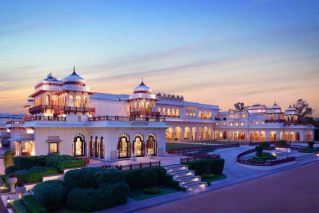 Royal indulgence at the Rambagh Palace, Jaipur.