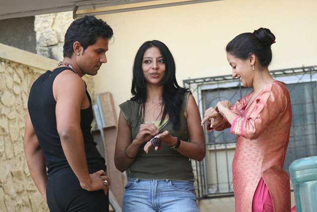 Madhureeta Anand on the sets of MERE-KHWABON-MEIN-JO-AAYE