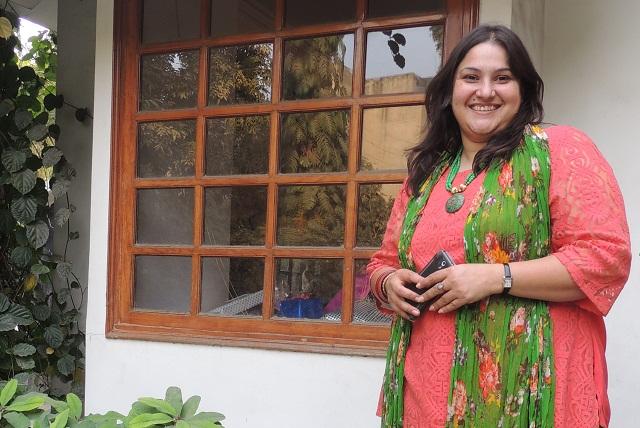 Gitanjali Kaul alias Gitu Kaul, owner The Good Goodies Bakery, Ghaziabad.