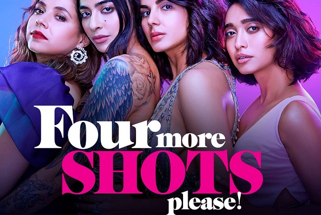 Four More Shots Please cast sayani Gupta, Maanvi Gagroo, Bani J, Kirti Kulhari