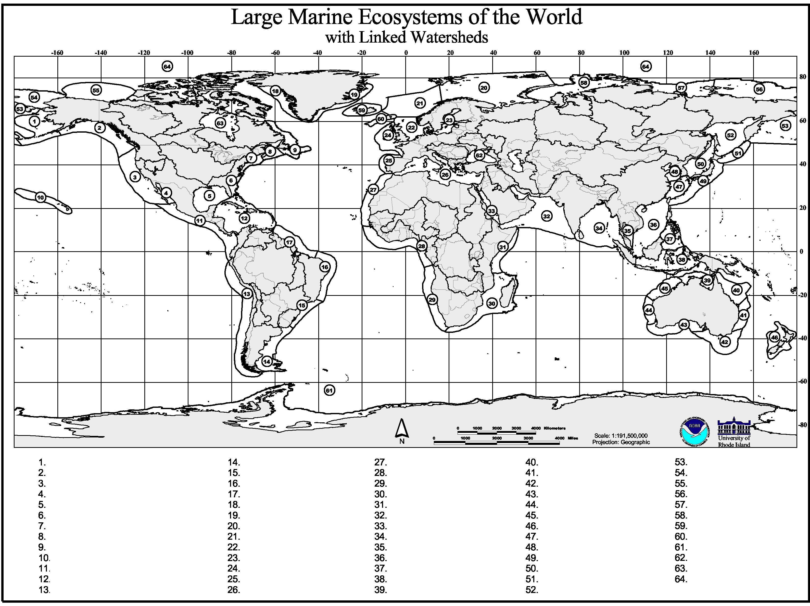 Test Your Marine Geography Knowledge