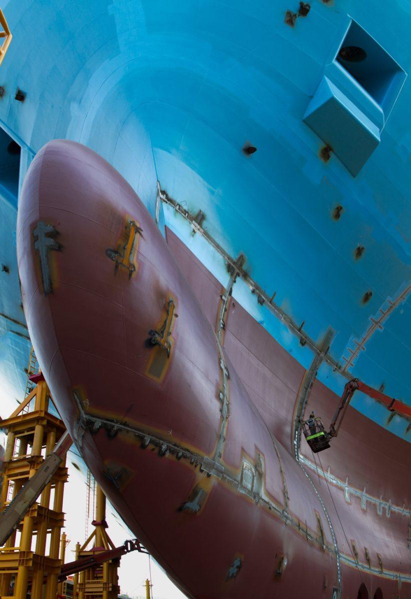 Cargo Ship Engine Room: Mærsk McKinney-Møller