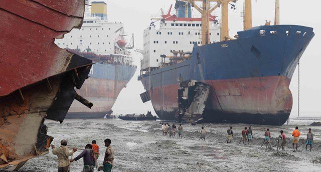 shipbreaking ship recycling scrapping