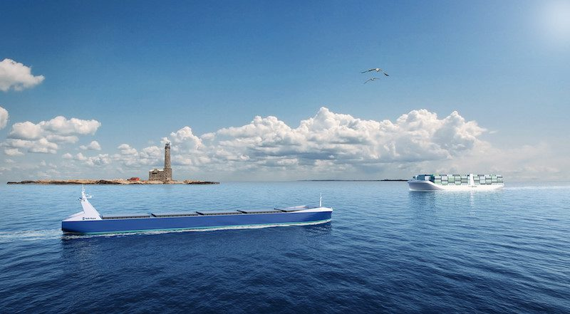 Internationally, Roll-Royce has been appointed to lead the Advanced Autonomous Waterborne Applications, a project that could pave the way for autonomous, unmanned ships in the not-so-distant future. Illustration: Rolls-Royce