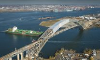Bayonne Bridge/NYC ports,