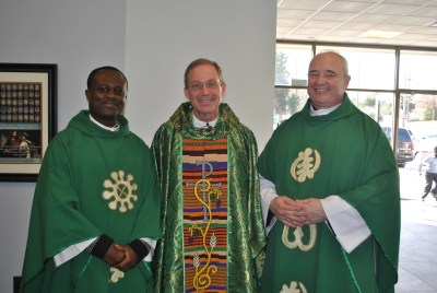 Vicar General Visits GCC