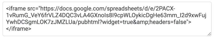example of embed code