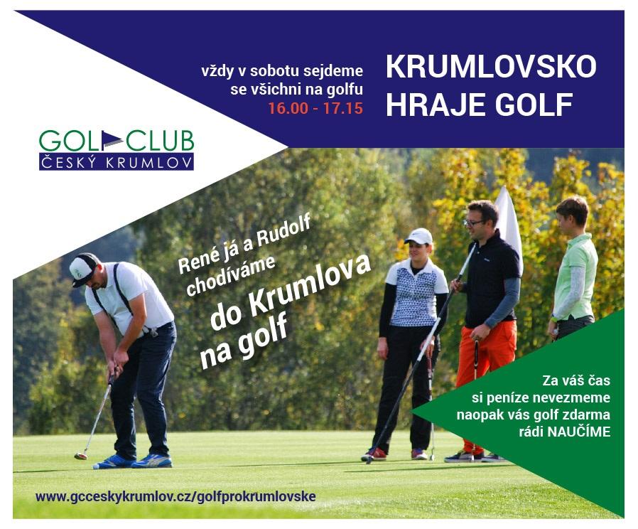 Golf nejenom pro Krumlováky