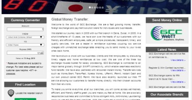 GCC Exchange Revamp Corporate Site