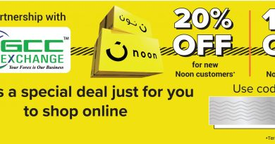 GCC Exchange In Partnership with Noon is offering Shopping Discounts
