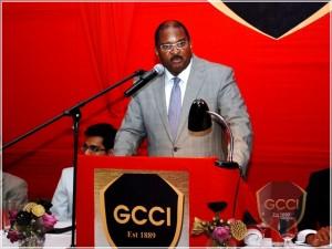 GCCI Vice President Lance Hinds