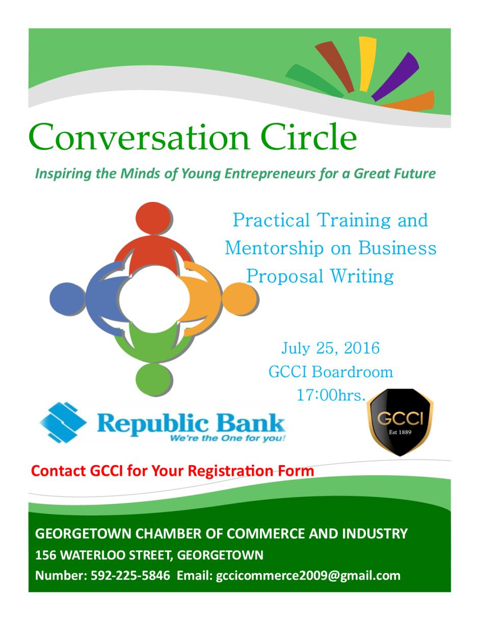 Conversation Circle Flyer 2