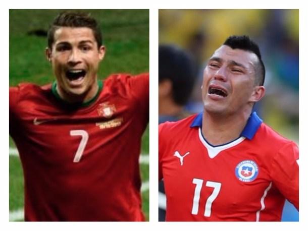 Foto: Portugal venció a Chile en Copa Confederaciones según insólito relato.