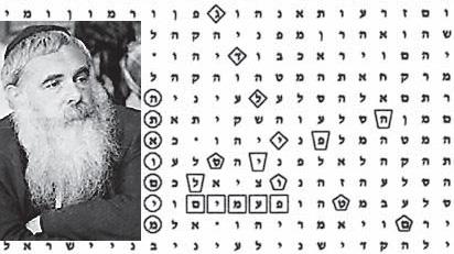 Resultado de imagen de rabino descifra biblia