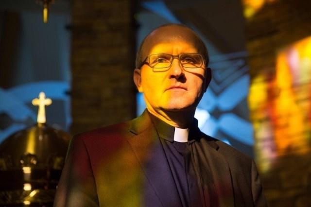 El Padre Vincent Lampert, exorcista desde el año 2005.