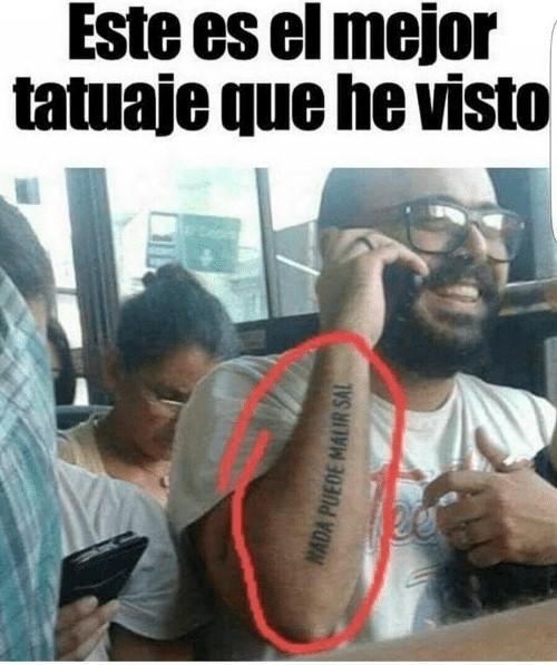 Memes De Tatuajes Imagenes Chistosas