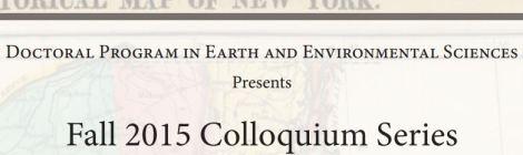 Fall 2015 Colloquium Schedule