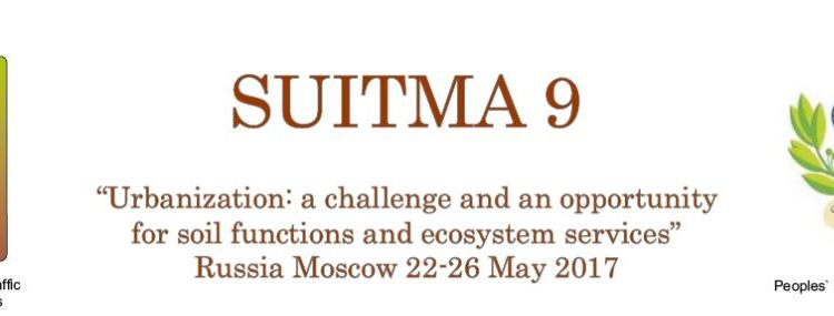 Urban Soils Conference in Moscow: SUITMA 9 in May 2017