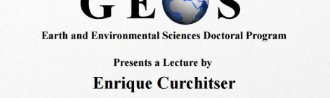 2/23 #Colloquium: Prof #EnriqueCurchitser of @RutgersU on #Integrated #MultiScale #EarthSystem #Modeling
