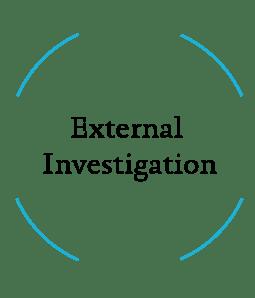 Internal investigation curriculum icon