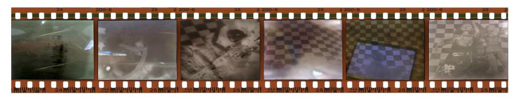 Pinhole Cameras- A Light and Sound Online Installation