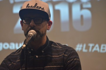 Director of Young Chicago Authors, Kevin Coval hosted our second bout.