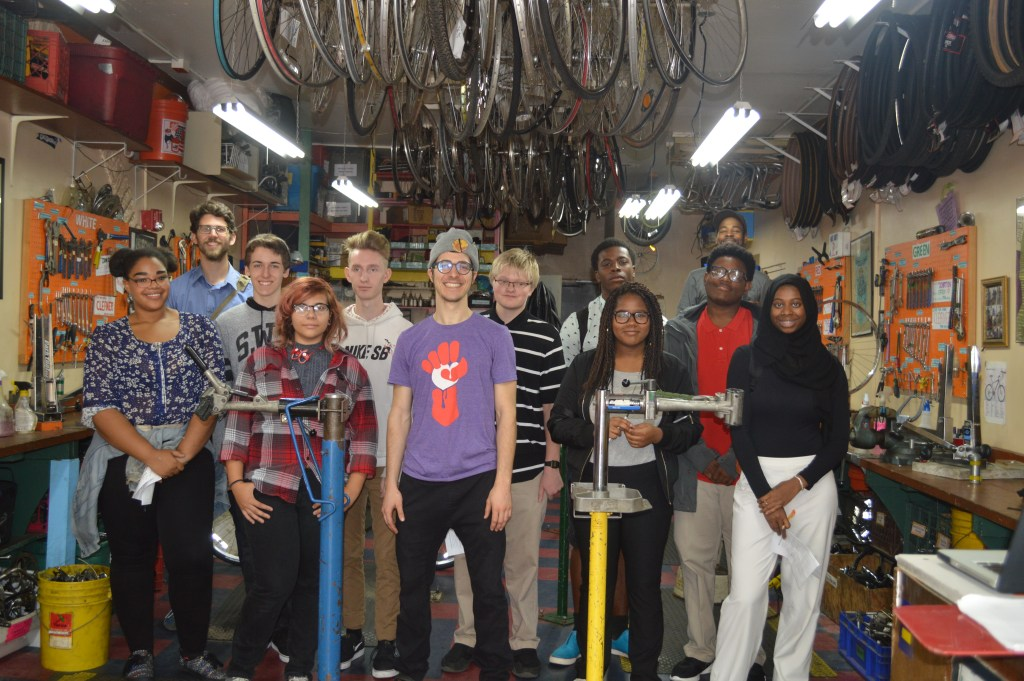 Design & Engineering @ The Recyclery Collective