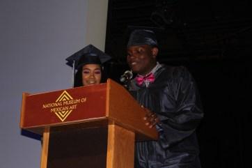 Senior speech from Genesis and Manny.