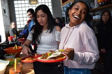 """""""Hahaha...this taco is so funny."""""""
