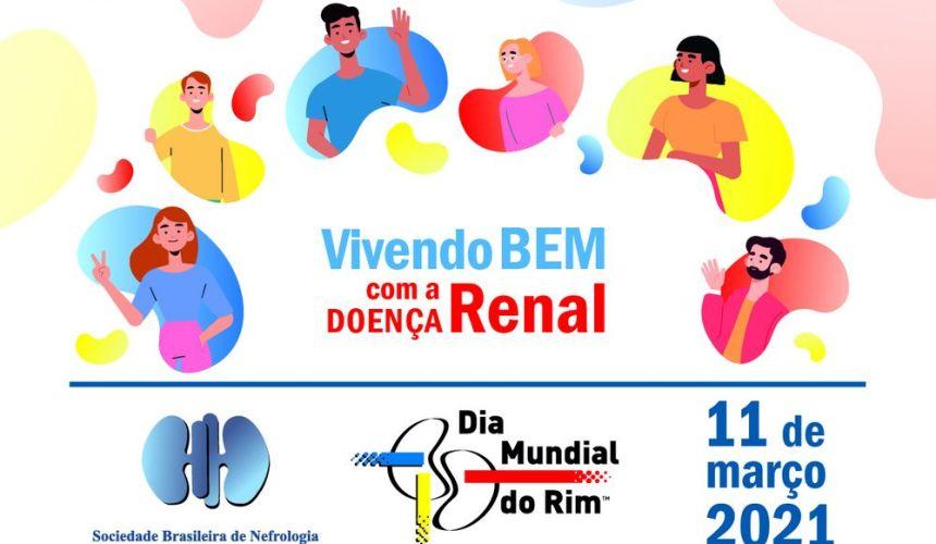 """""""Vivendo bem com a doença renal"""" é o tema central do Dia Mundial do Rim"""