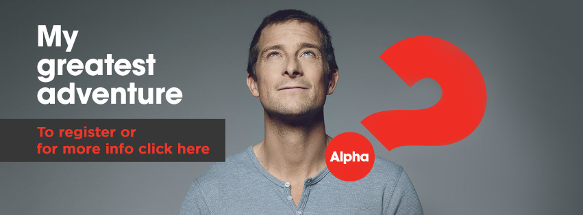 Invitation to find out more about Alpha