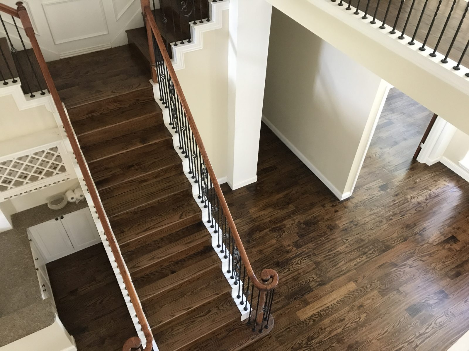 Installing Hardwood Floor In Plano Tx 3 Gc Flooring Pros | Installing Wood Floors On Stairs | Stair Tread | Stair Nosing | Carpeted Stairs | Vinyl Plank | Carpet