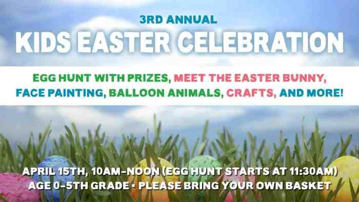 Easter Egg Hunt 2017 Slide