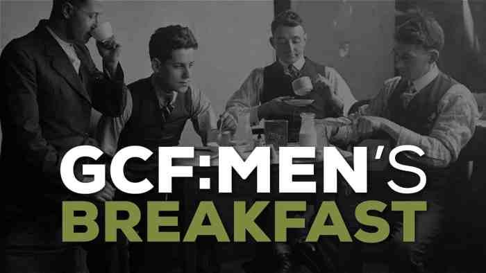 Mens Breakfast