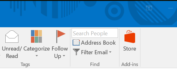 Open Address Book From Ribbon