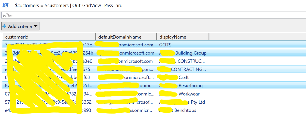 Choose Office 365 Tenants To Search For Specific Emails PowerShell