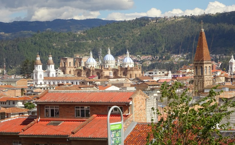 Cuenca, Ecuador, home of Kaulitz Press, Workshop and Residency
