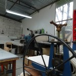 Press room, Kaulitz Press, Workshop and Residency in Cuenca, Ecuador