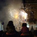 Fireworks in Cuenca, Ecuador, home of Kaulitz Press, Workshop and Residency