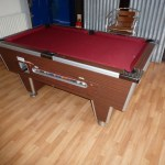 Not All Tables Are The New Type That We Recover 1970 S Early 6ft Super League Gcl Billiards