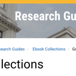 ebooks collections libguide screenshot
